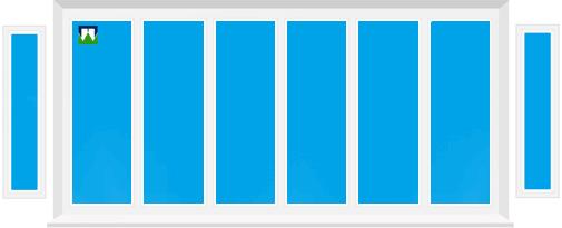 Plastikinių balkonų B62 kainos