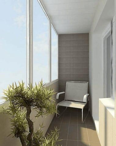 Kaip geriau apstiklinti balkoną?